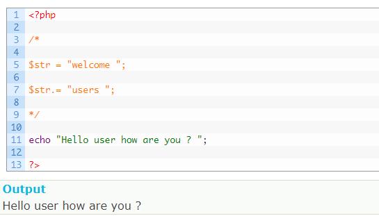 anothe line comments