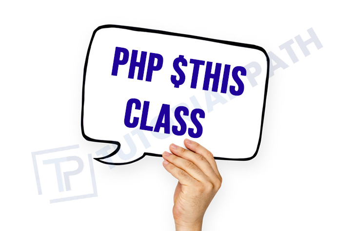 PHP $This Class