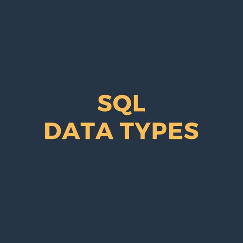SQL-Data-Types