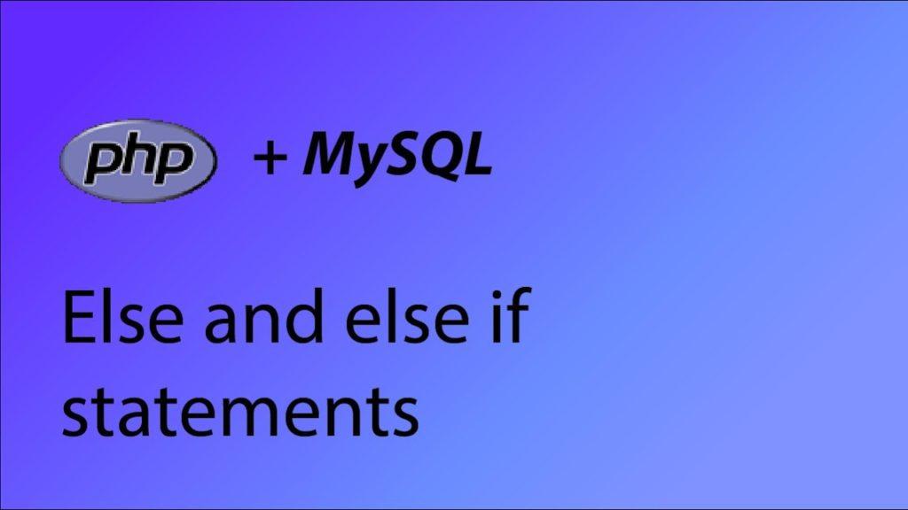 MySQL IF Statement